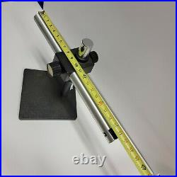 38mm (1.5) Dia Heavy Duty Leica Microscope Base Boom Stand with Adjustable Arm