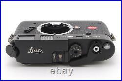 CLA'D Near MINT LEICA Leitz M4-P Black Rangefinder Film Camera From Japan