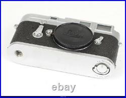 Camera Body Leica M3 No1047575 With Orginal Box Mint