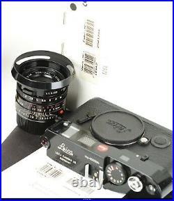 Camera Leica M6 Millenium with Summicron 2/35mm ASPH Black Paint Mint Bo 10442