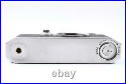 Canon III Vintage Rangefinder Film Camera Leica Screw Mount L39 Works