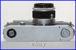 Canon Model 7 Leica Screw Mount Rangefinder Camera Body 50mm F1.8 Lens Japan
