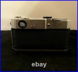 Canon model 7 Leica Screw Mount Rangefinder camera Vintage