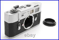 EXC+5 Meter lower LEICA Leitz M5 Silver Rangefinder Film Camera From Japan