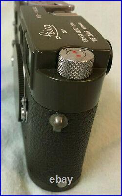 Ex+++ Leitz Leica M3 Single Stroke OLIVE BUNDESEIGENTUM Custom Painted