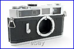 Exc+++Canon Model 7 Leica Screw Mount Rangefinder Camera Body From JAPAN #125