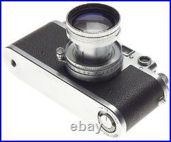IIIC Leica Rangefinder camera Clean Summitar f=5cm 12 coated lens case cap 2/50