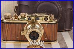 Kriegsmarine LEICA II(D) K. M. WWII Ernst Leitz Wetzlar 35mm Camera /FED based