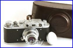 LEICA D. R. P. Ernst Leitz Wetzlar Exclusive Camera(fed zorki copy) Great Gift