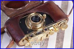 LEICA DII Leitz Elmar Olympic XI Games Berlin 1936 VTG 35mm Art Camera FED based