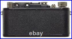 LEICA I Black paint camera Nickel Leitz Elmar 13.5 f=50mm case filter set clean