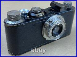 LEICA I Standard Black Vintage 1931 camera with 50mm F/3.5 Elmar #66203 Rare