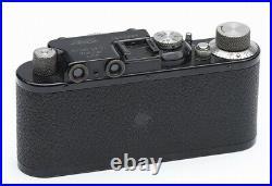 LEICA II 35MM 1932 BLACK RANGE FINDER CAMERA With MATCHING 50MM 3.5 ELMAR LENS