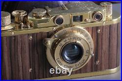 LEICA II D Ernst Leitz Wetzlar WWII Vintage VTG 35mm Art Camera /Zorky FED based