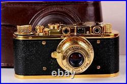 LEICA II(D) K. M. Kriegsmarine Camera WWII Ernst Leitz Wetzlar 35mm \ FED Based