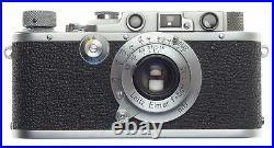 LEICA III EXCELLENT WORKING RANGEFINDER 35mm FILM CAMERA LEITZ ELMAR 13.5/50mm