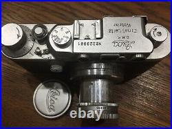 LEICA III with SUMMAR f=5cm1.2 Lens Vintage Camera S/N 223881 I 1936 Germany