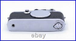 LEICA IIIF 1/1000 SHUTTER 35mm FILM RANGEFINDER CAMERA BODY s/n 581336
