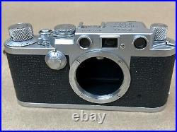LEICA IIIF Read Dial Vintage Camera Body #661691 Ernst Leitz Wetzlar- Nice