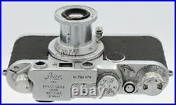 LEICA IIf E. Leitz Wetzlar, Allemagne N°764670 objectif Elmar 3,5/5 cm Vers 1955