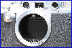 LEICA LEITZ IIIf BLACK DIAL BD 35mm FILM RANGEFINDER CAMERA BODY No. 537344