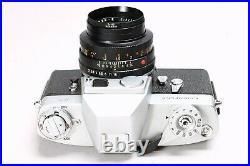 LEICA LEITZ LEICAFLEX 35MM FILM SLR CAMERA With SUMMICRON-R 50MM F/2 LENS, CASE