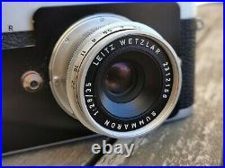 LEICA LEITZ MDa POST 24X27mm 1286806 summaron 2,8/35 2312156 VG CONDITION 8828