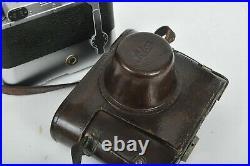 LEICA LEITZ MOOLY + ERC CASE + IIIa 319772 + ELMAR 3.5 50mm WORKING PERFECT 8823