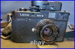 LEICA M4-2 With LEITZ CANADA Summicron 35mm f12.0 lens ll