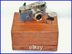 LEICA M6 PLATINUM ANTON BRUCKNER Set WithLeica 50mm lens & Original Box Nice Mint/