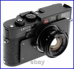 LEICA POST M6 BLACK 1 of 8 PRODUCED 12/35mm SUMMICRON-M FIXED CAMERA MEGA RARE