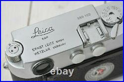 LEITZ LEICA M1 BODY LR lever rewind, 980102 VG+ COND CK 5400