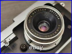 LEITZ LEICA MD POST (or M3 POST) 24X27mm AND SUMMARON 2.8cm/3.5 REFCK8876