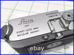 LEITZ LEICA MDa POST 24X27mm AND RARE SUMMARON 2.8cm/5.6 EX++/MT- REFCK8593