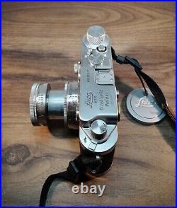 Leica 111c 3c 50mm F2 Summitar Beautiful Condition