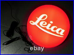 Leica 9in Light Sign. Minty
