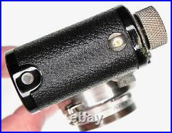 Leica Black III (Model F) with Black Rim 5cm f2 Nickel Summar #145403