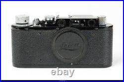 Leica Camera Body IID No. 315047 Black Chrom Screw 39 Mint Box