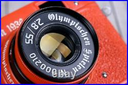 Leica Camera Olympiad Berlin 1936 Exclusive Model, Rangefinder 35 mm. (Fed copy)