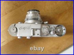 Leica Copy Kardon Camera US Army Signal Corp. Kodak 47mm Ektar Lens