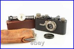 Leica I 1930 with Elmar 50mm 50 mm nice set with case Leitz 87626