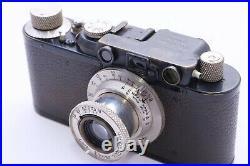 Leica I to Leica II conversion with 50mm f3.5 Elmar lens rangefinder 35mm camera