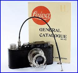 Leica II, #100255, Hektor 2.5/5 cm #140490