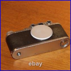 Leica II 35mm film camera BODY 243581 Leitz WETZLAR GERMANY 1937