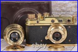 Leica II D Berlin 1936 Camera With lens Leitz Elmar + lens