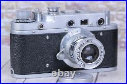 Leica II D Berlin 1936 Camera lens Leitz Elmar, Vintage Camera (Fed copy)