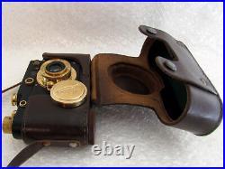 Leica-II(D) Berlin 1936 Olympiada WW 2 Vintage Russian RF BLACK Camera EXCELLENT