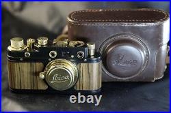 Leica II(D) Kriegsmarine WWII Vintage Russian Camera + M39 Lens Leitz Elmar NICE
