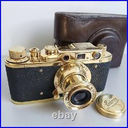 Leica-II (D) Luftwaffe camera vintage with Leitz Elmar 3.5/50