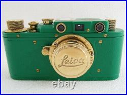 Leica II(D) Olympiada Berlin 1936 WWII Vintage Russian RF GREEN Camera EXCELLENT